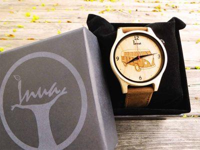 Inua Watches, des montres en bois de qualité supérieure au design unique