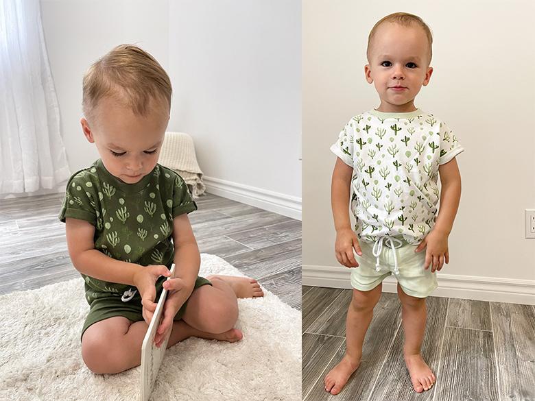 Nate & Cie, pyjamas en tissu organique pour enfants