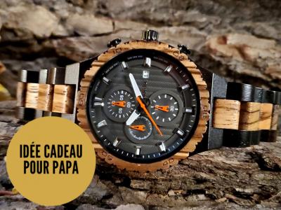 Rustic Tac, montres en bois et accessoires originaux