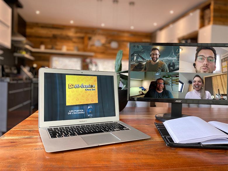 Jeux d'énigmes 100% en ligne à faire à la maison avec Défi Évasion – Chez Soi