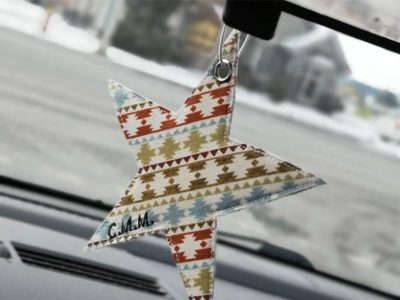 Des accessoires uniques pour la voiture avec Créations Mamy Mawy