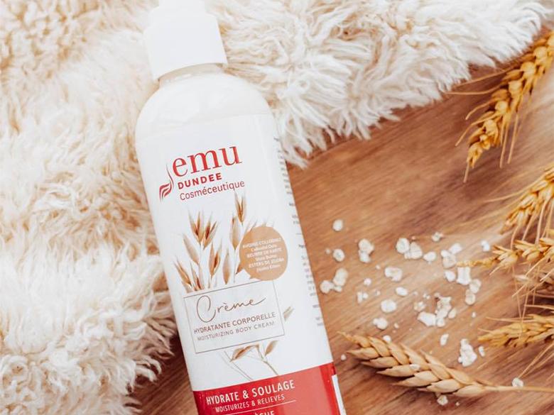 Emu Dundee, une large gamme de produits à base d'huile d'émeu naturelle et pure à 100%