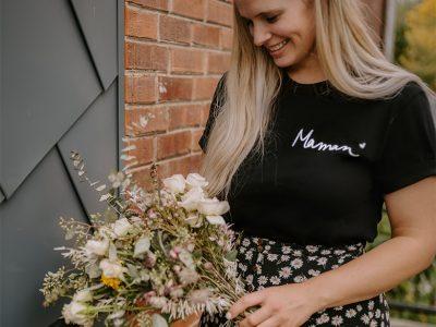 Holive, articles personnalisés avec fleurs de naissance et autres designs minimalistes