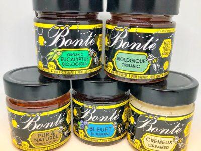 Bonté Distribution, Une boîte de bons produits au miel